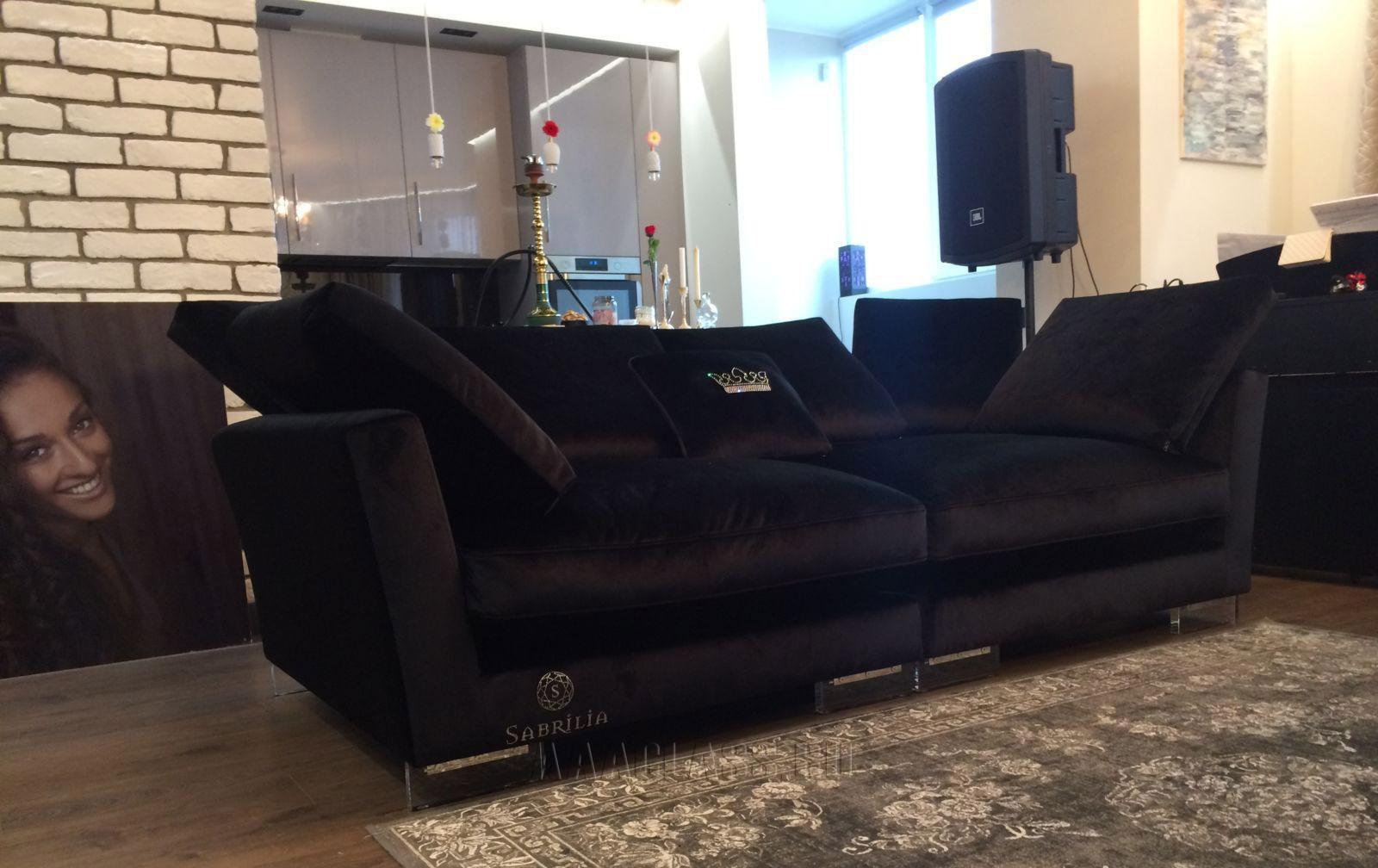дизайнерские диваны российского производства, диван ника на прозрачных опорах