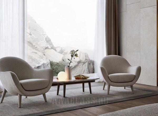 итальянское кресло Mad Queen в интерьере гостиной