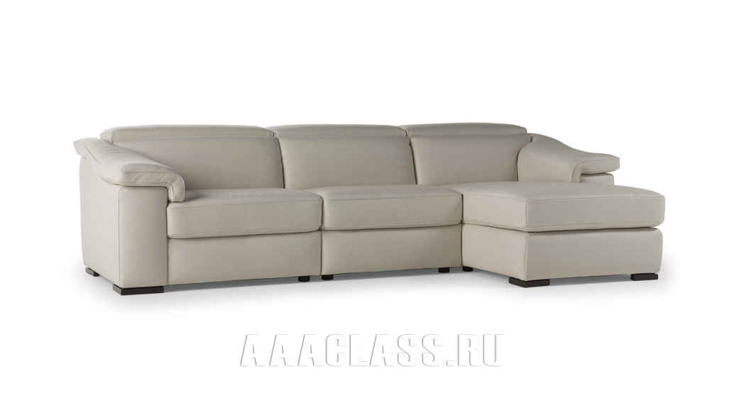 итальянский модульный кожаный диван Brick