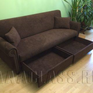 диван по индивидуальному заказу в интерьере квартиры